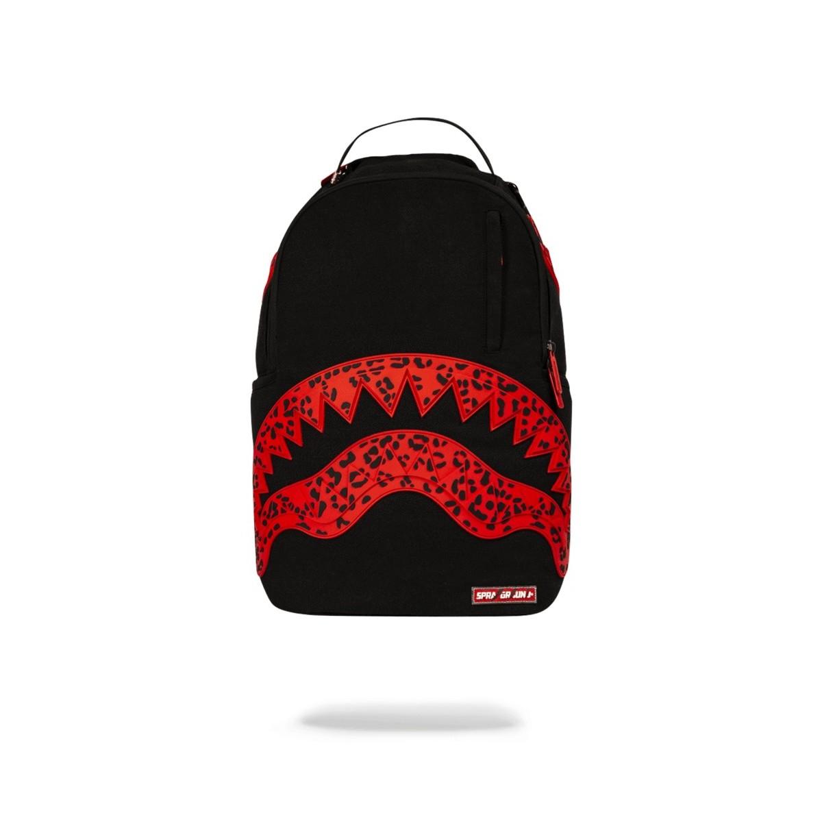Backpacks Sprayground - Red leopard shark mouth