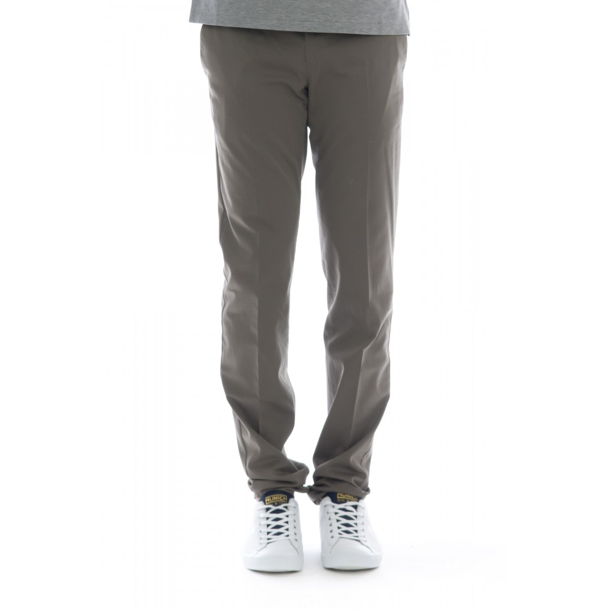 Pantalone uomo - Codl01z00rft bb14 cotone seta strech super slim