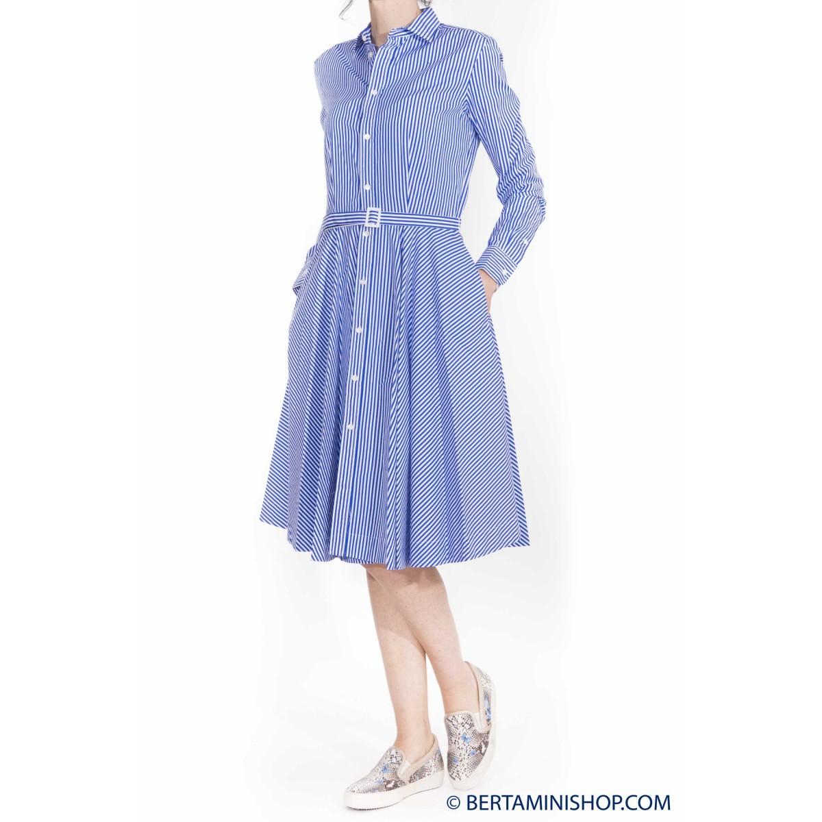 Camicia manica corta donna Ralph lauren - V33ih794bh794 vestito riga