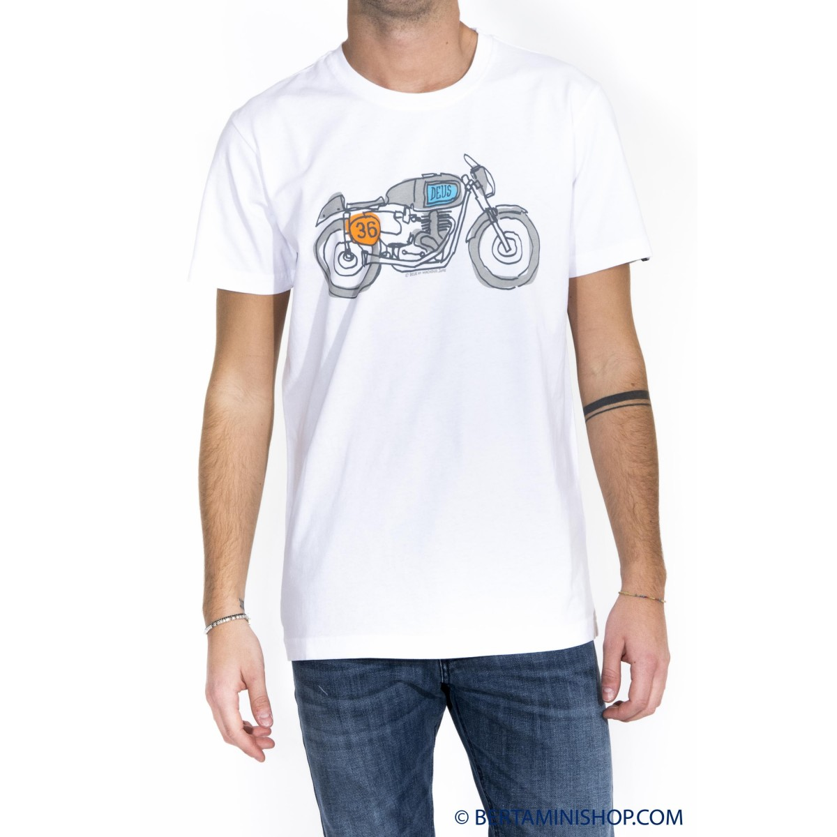 T-shirt uomo Deus ex machina - Dmw41808g icons