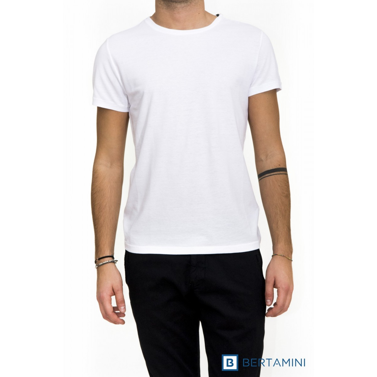 T-shirt uomo Kangra - 1408/21 t-shirt cotone crep