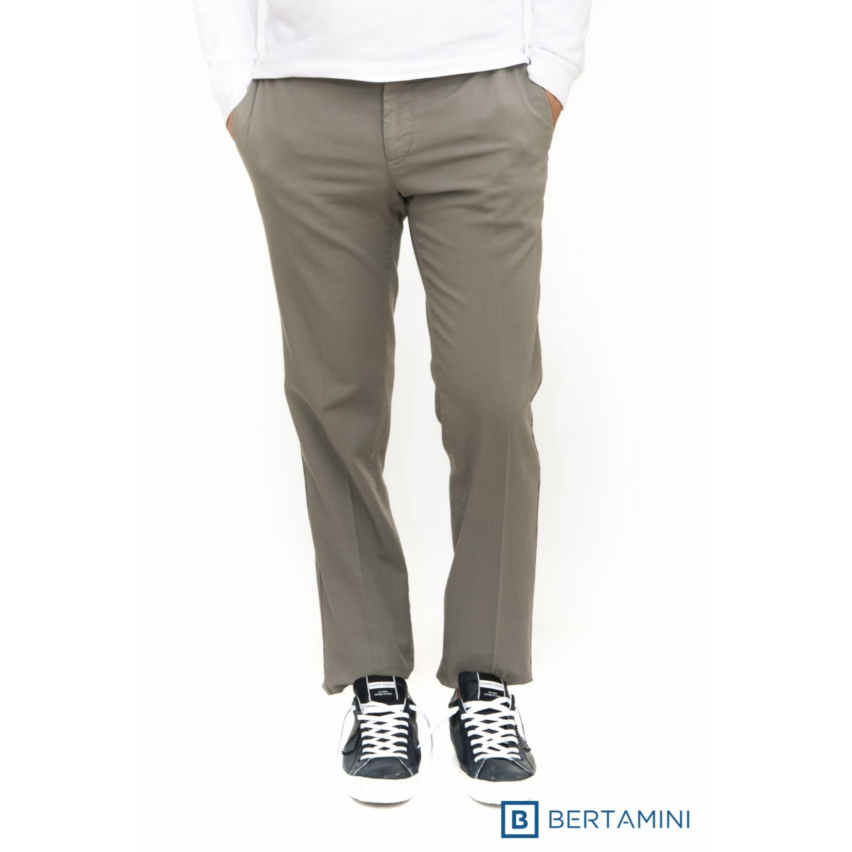 Pantalone Uomo Pt 01 - Cpvtal Sr10 Canvas Cotone Strech Slim