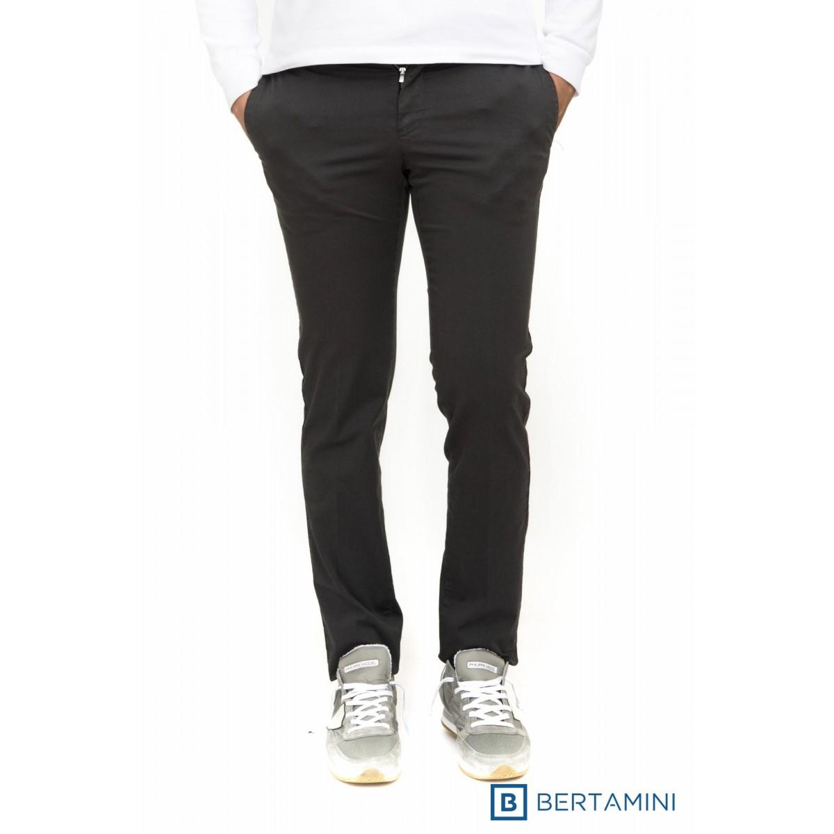 Pantalone Uomo Pt 01 - Cpdtal Nt50 Raso Stampato Strech Super Slim