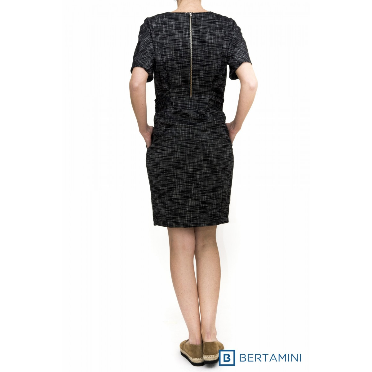 Abito lungo donna Erika cavallini - semicouture - 054 abito fiocco