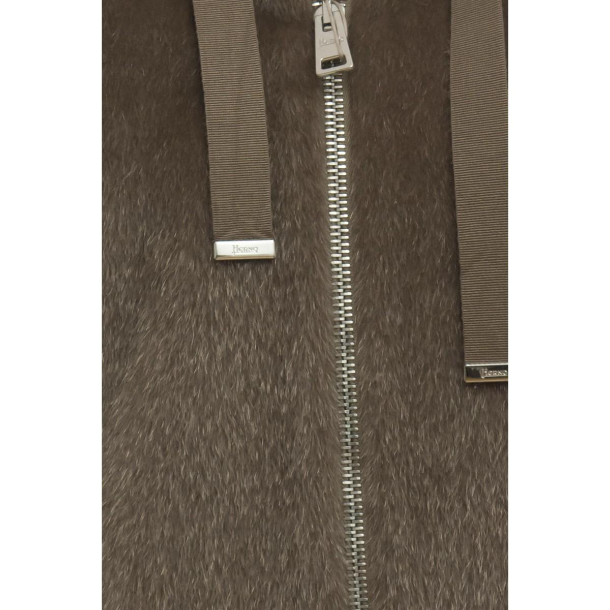 Piumino - GC015DR 12257 brina con lurex