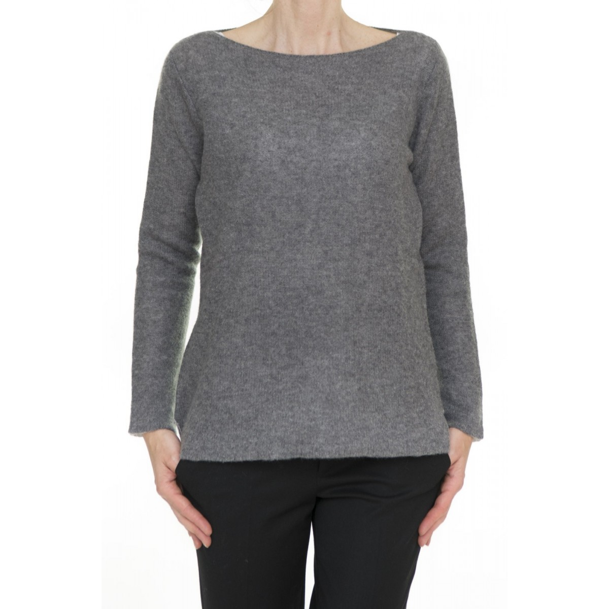 Maglia donna Kangra - 2640/13 maglia puro caschmeire garzata