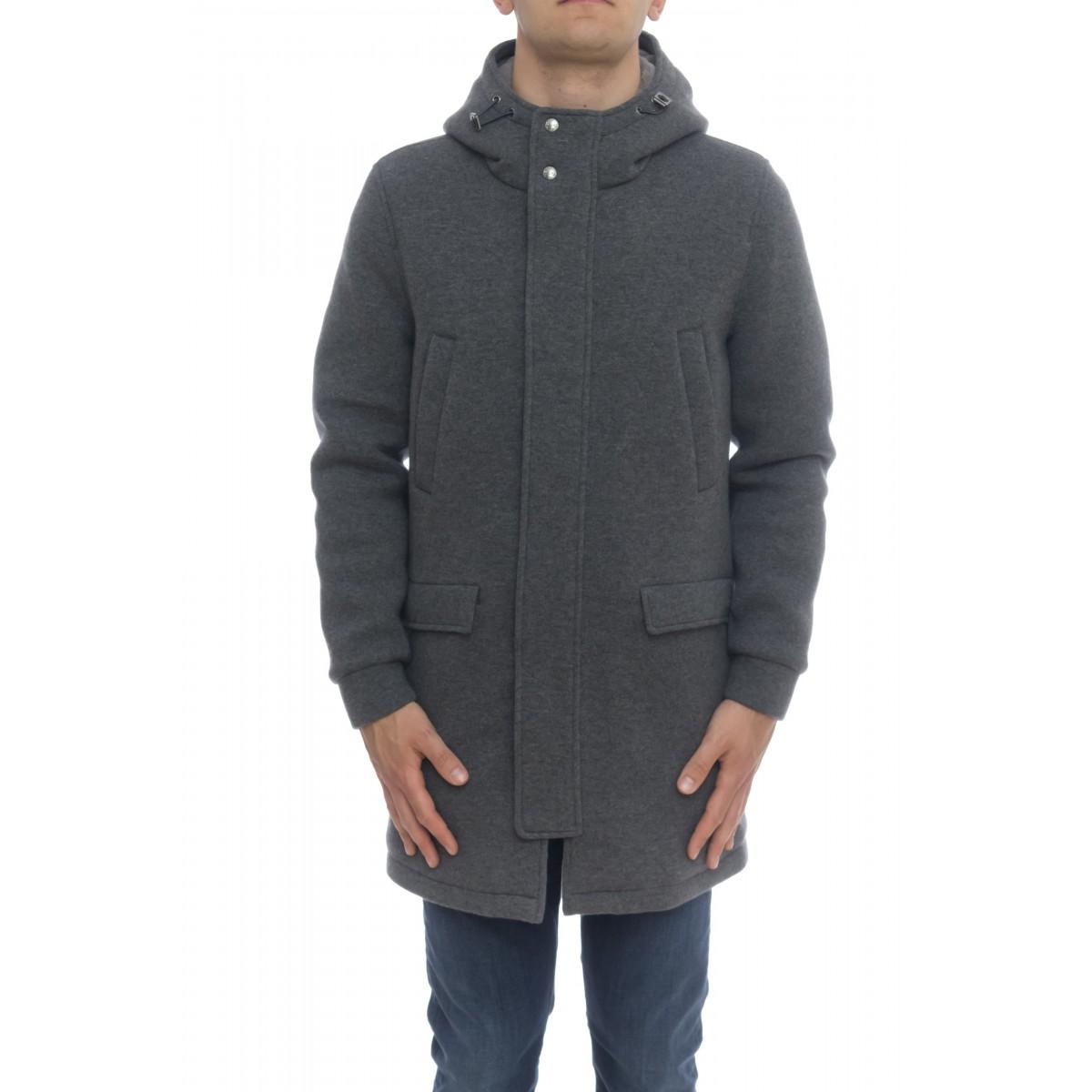 Down Jacket - PA005UR 33185 scuba wool