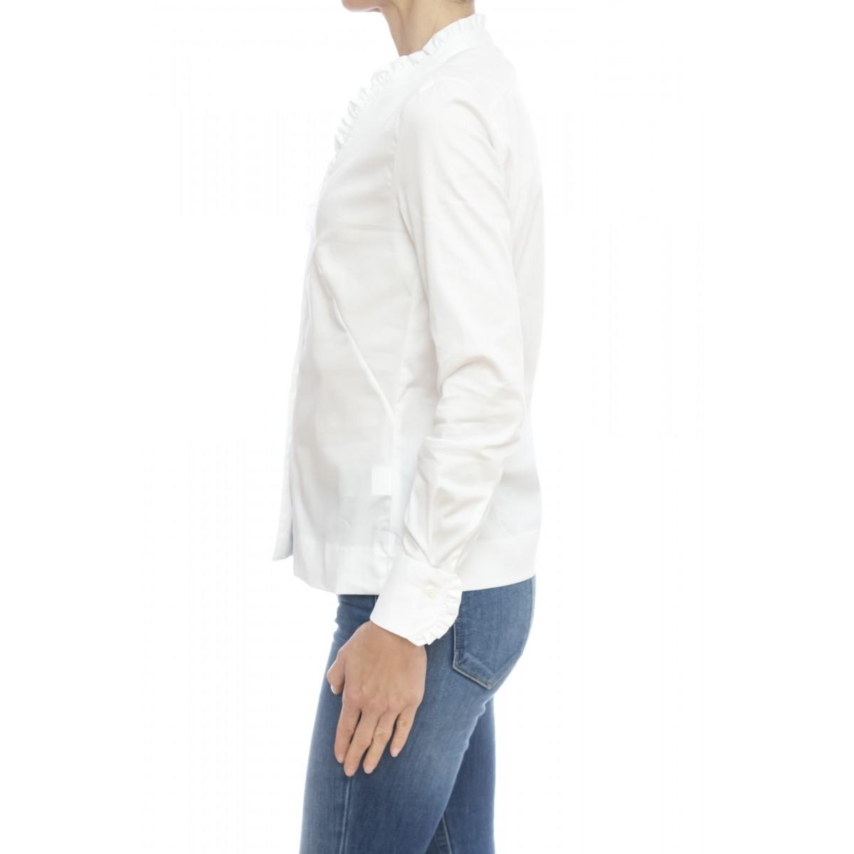Camicia donna - Pj2 yoy camicia cotone strech rouge