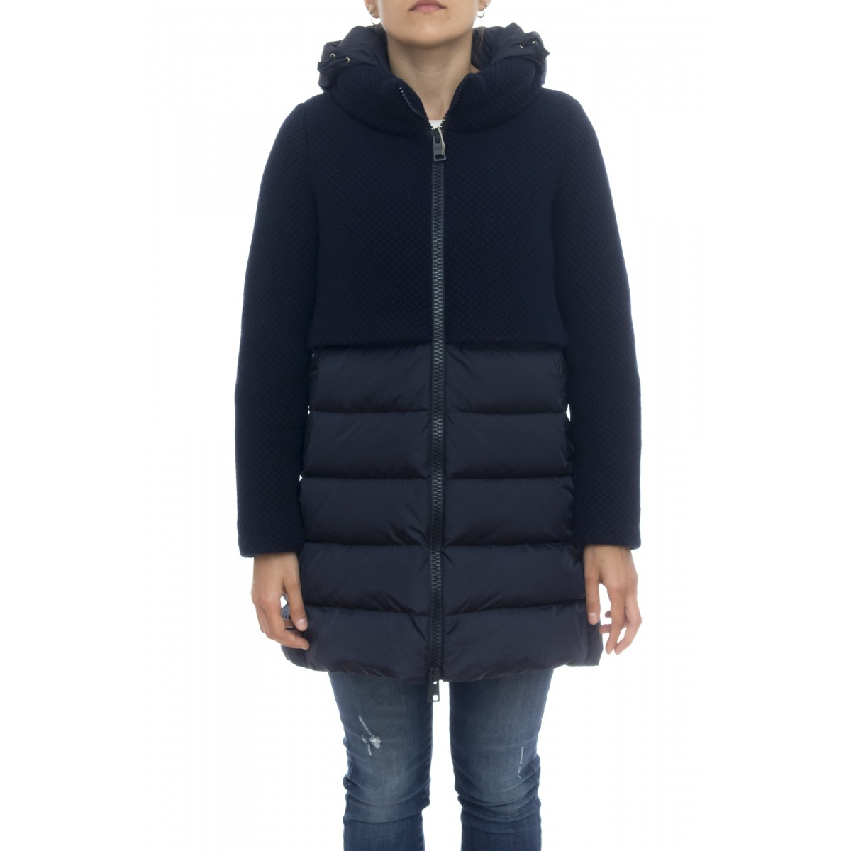 Down jacket - Pi0822d 33220 grain of rice