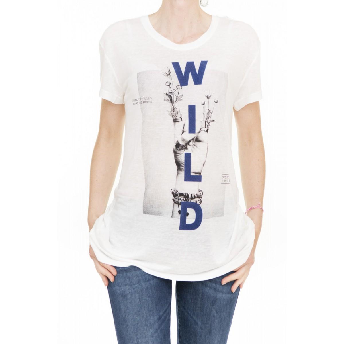 T-shirt donna Diesel - T smile-z
