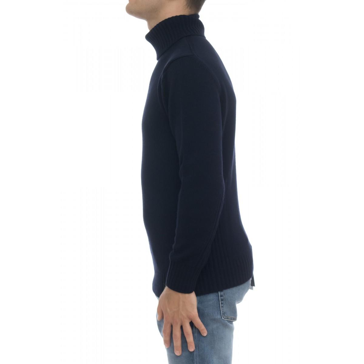 Maglia uomo - 8104/05 maglia collo alto 100% merinos