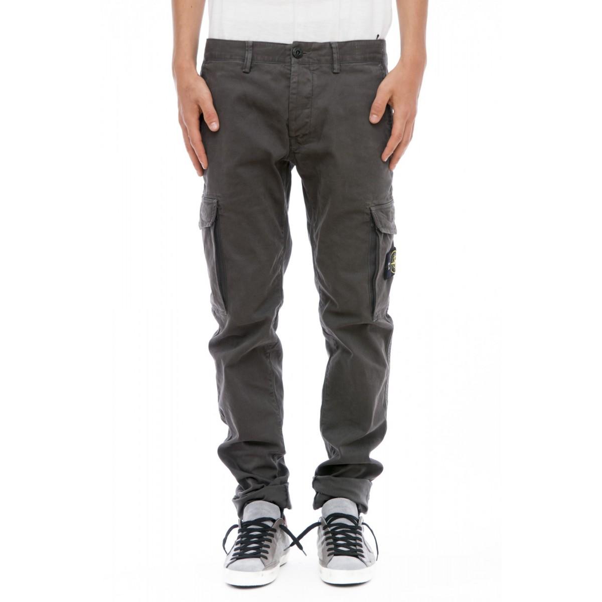 Pantalone uomo Stone island - 3s2wn pantalone tasconato slim