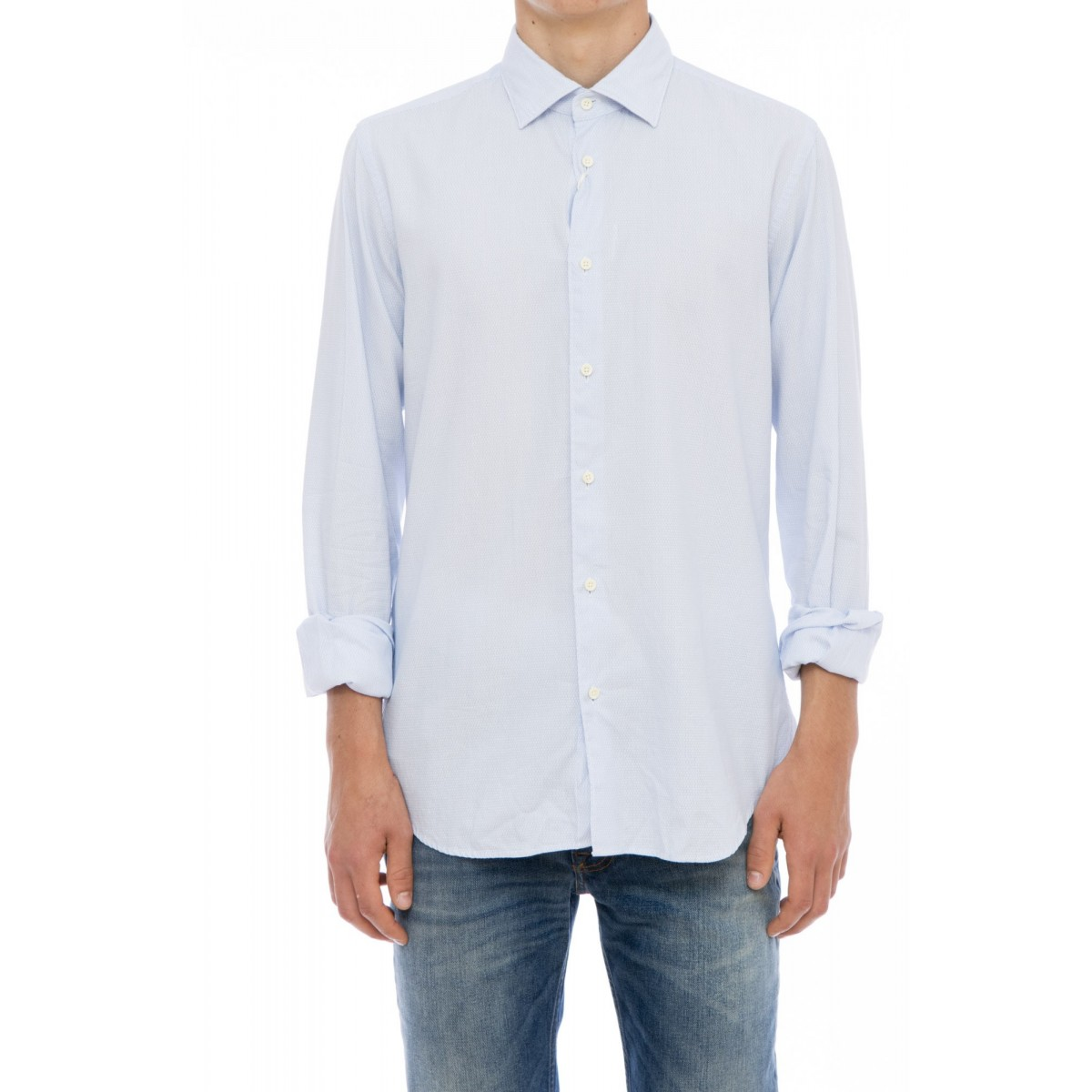Camicia uomo Xacus - 719 71156 camicia taylor lavata