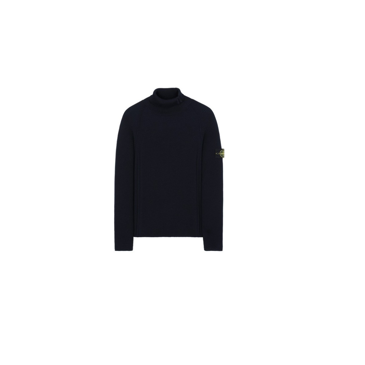 Rollneck Knit - 542C2 full ribbed light wool