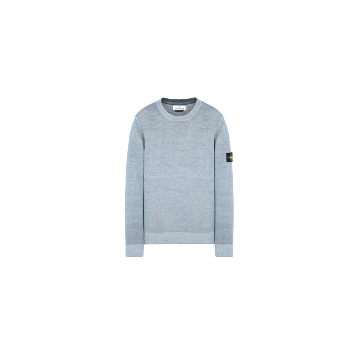 Crewneck- 572A8 pure wool with garment undergoes