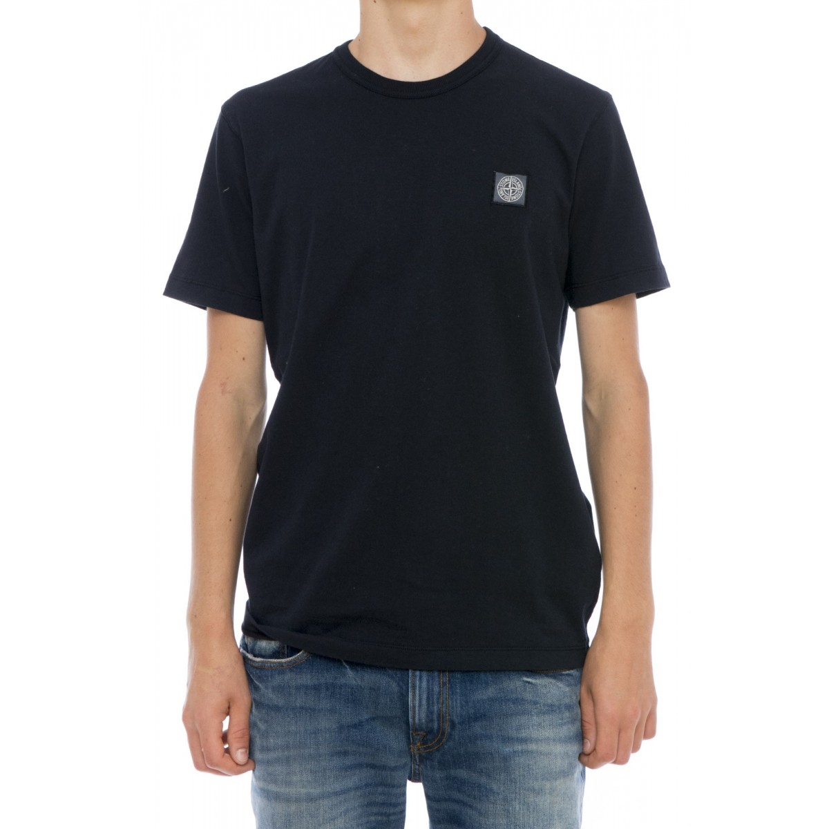 T-shirt uomo Stone island - 21142 t-shirt cotone fiammato