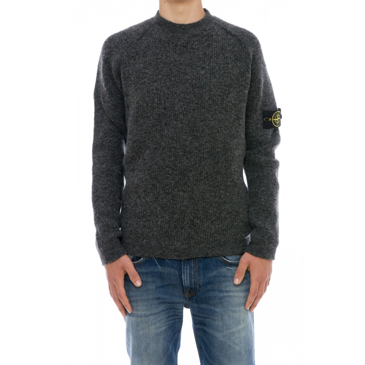 Maglia uomo Stone island - 518d1 maglia reversibile