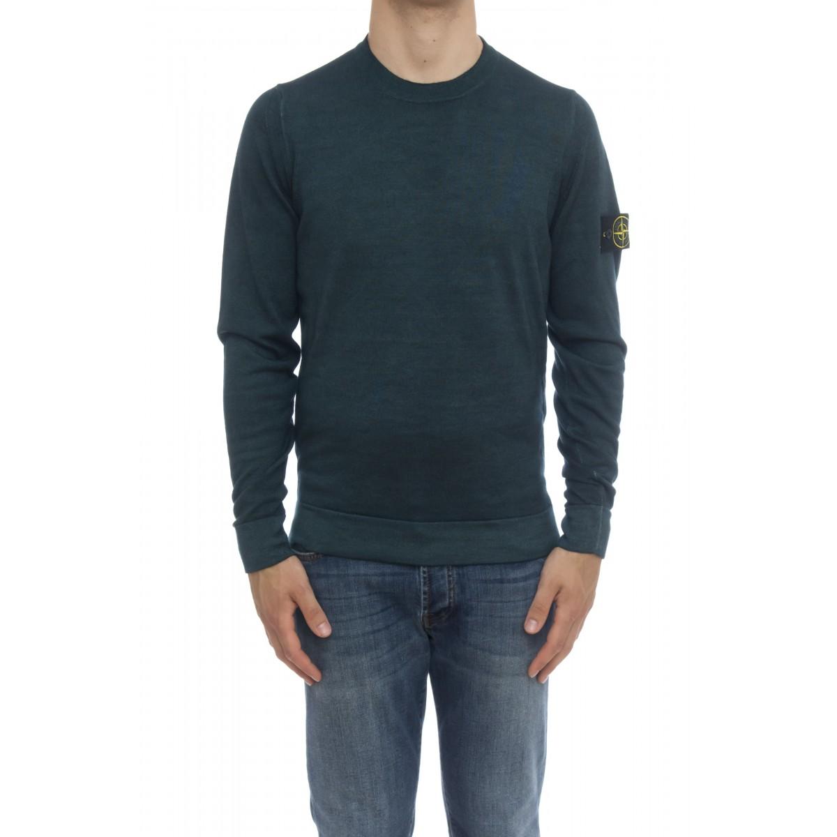 Maglia uomo - 572A8 maglia merinos spruzzata