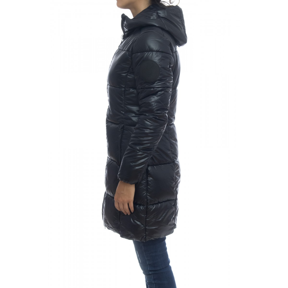 Piumino - D4565w luck9 cappotto macro logo