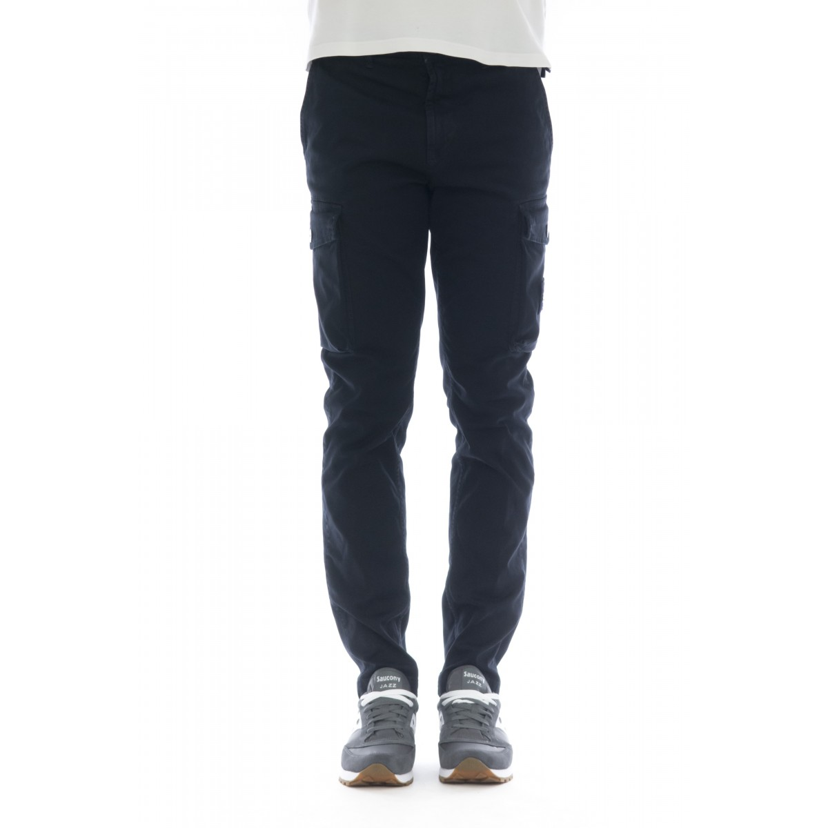 Cargo Trousers - 308LI Broken Twill stretch cotton