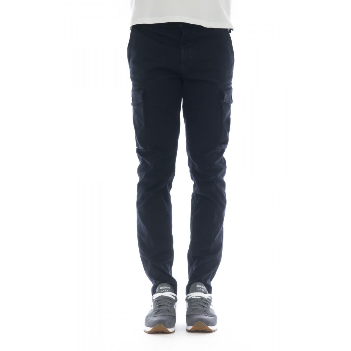 Pantalone uomo - 308LI tasconato in cotone strech