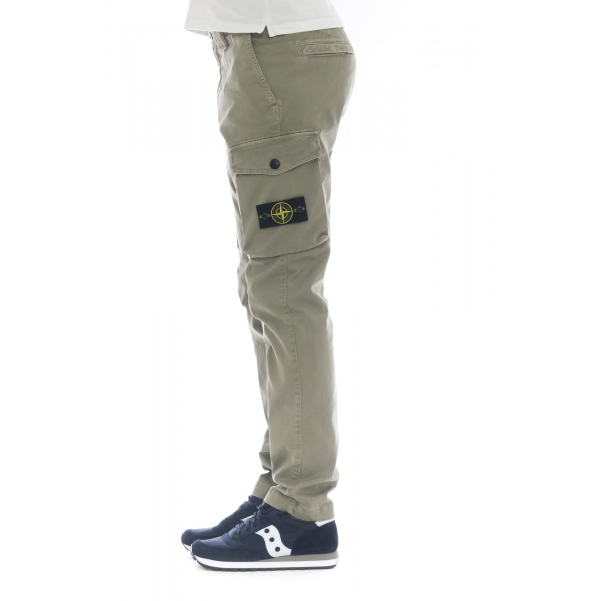 Cargo Trousers - 308LI Broken Twill stretch cotton