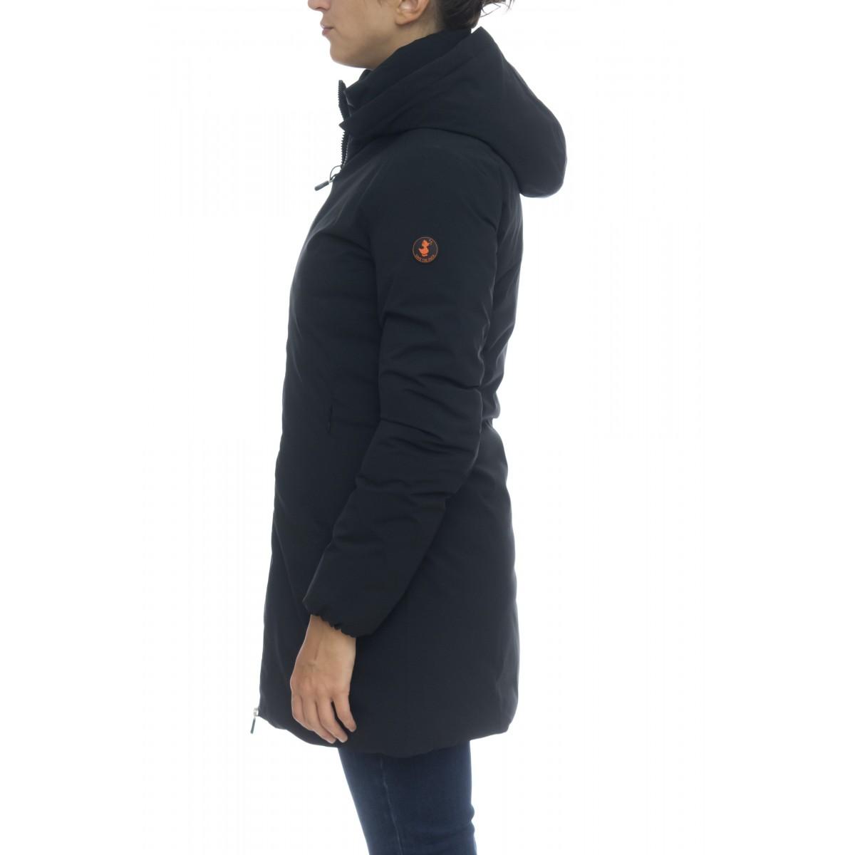 Piumino - D4006w matt9 cappottino liscio capp staccabile