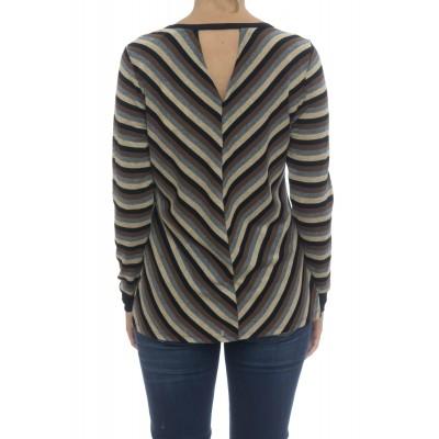 T-shirt donna - Moida t-shirt rigata lurex
