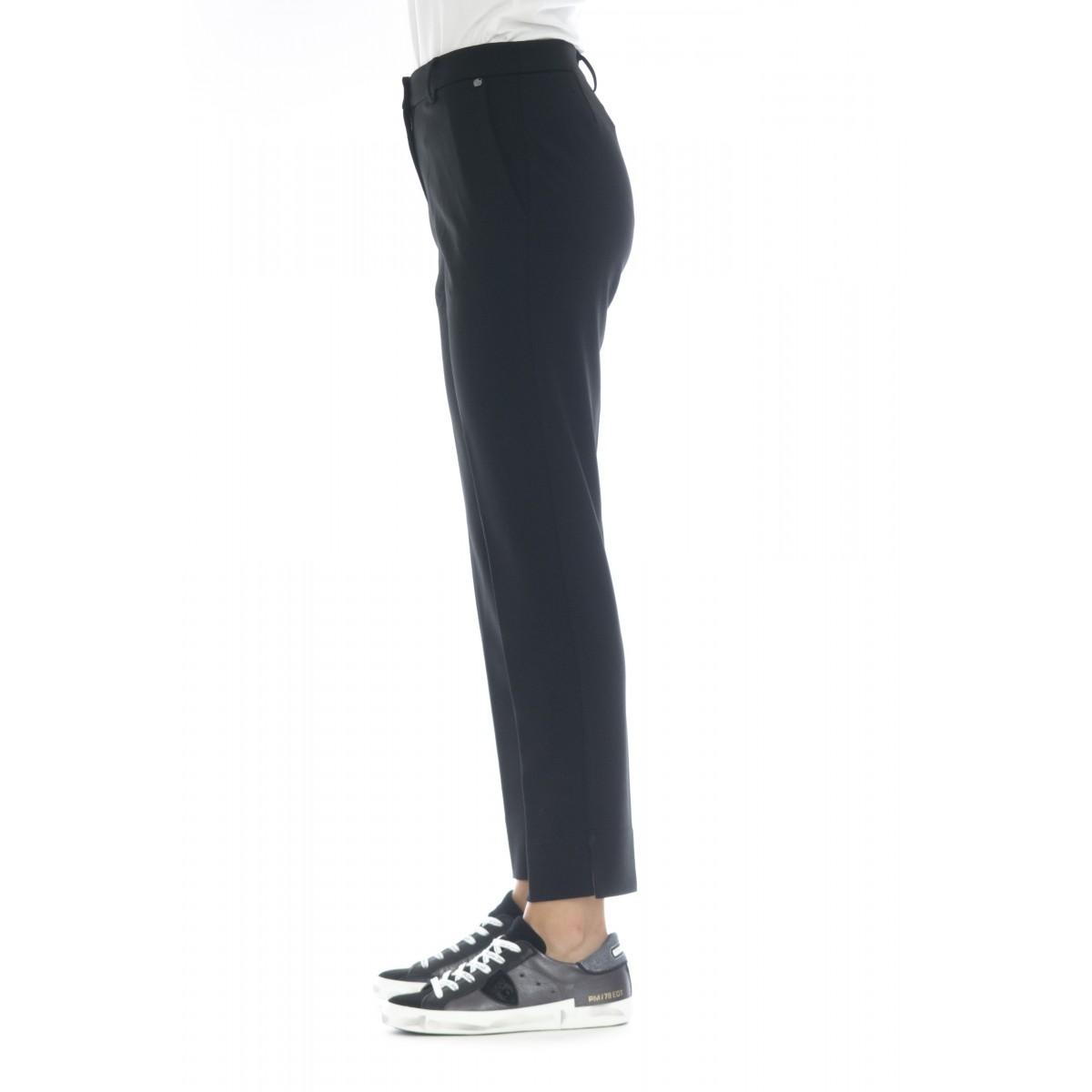 Pantalone donna - 2091 pantalone taglio sigaretta punto milano
