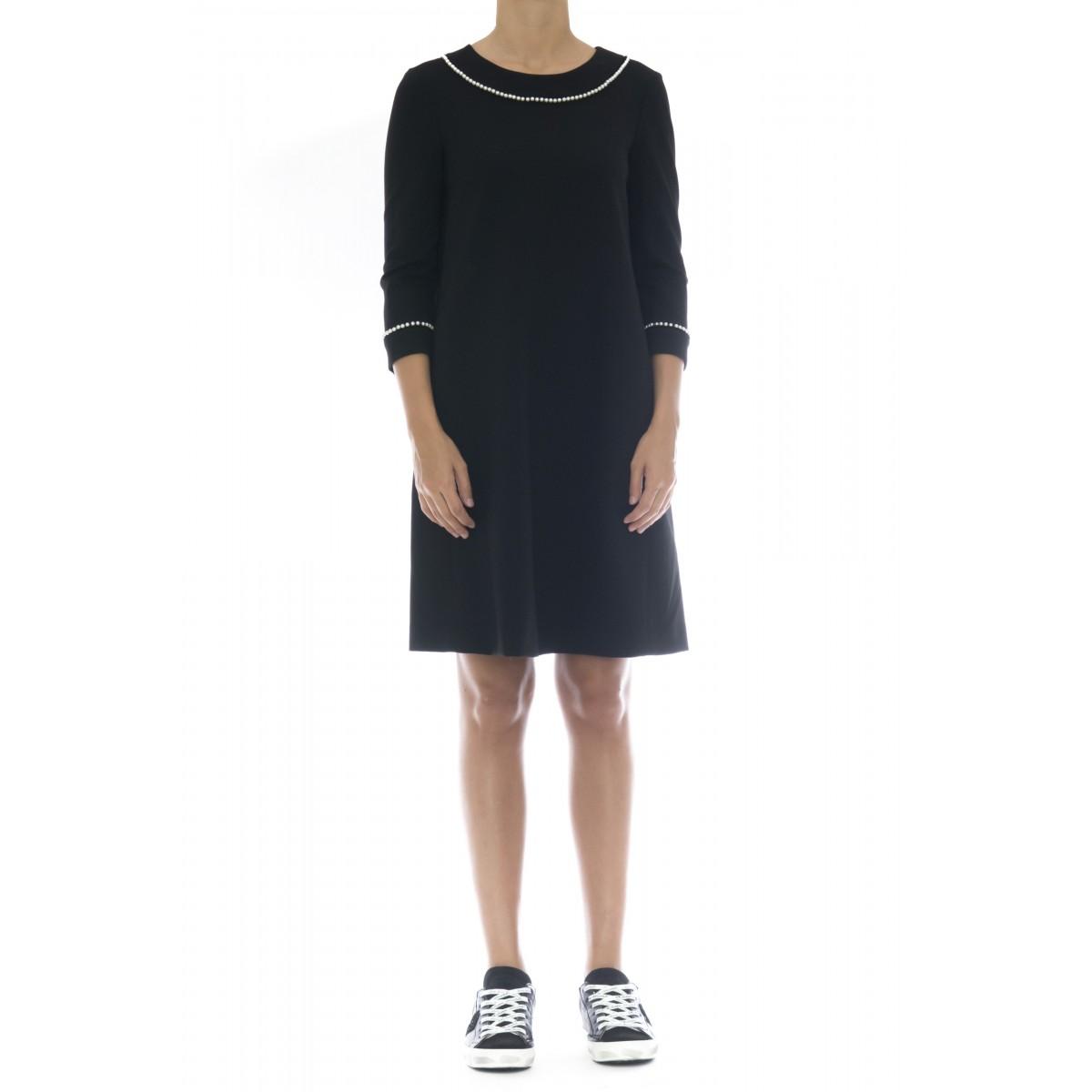 Vestito - 2081 abito punto milano svasato