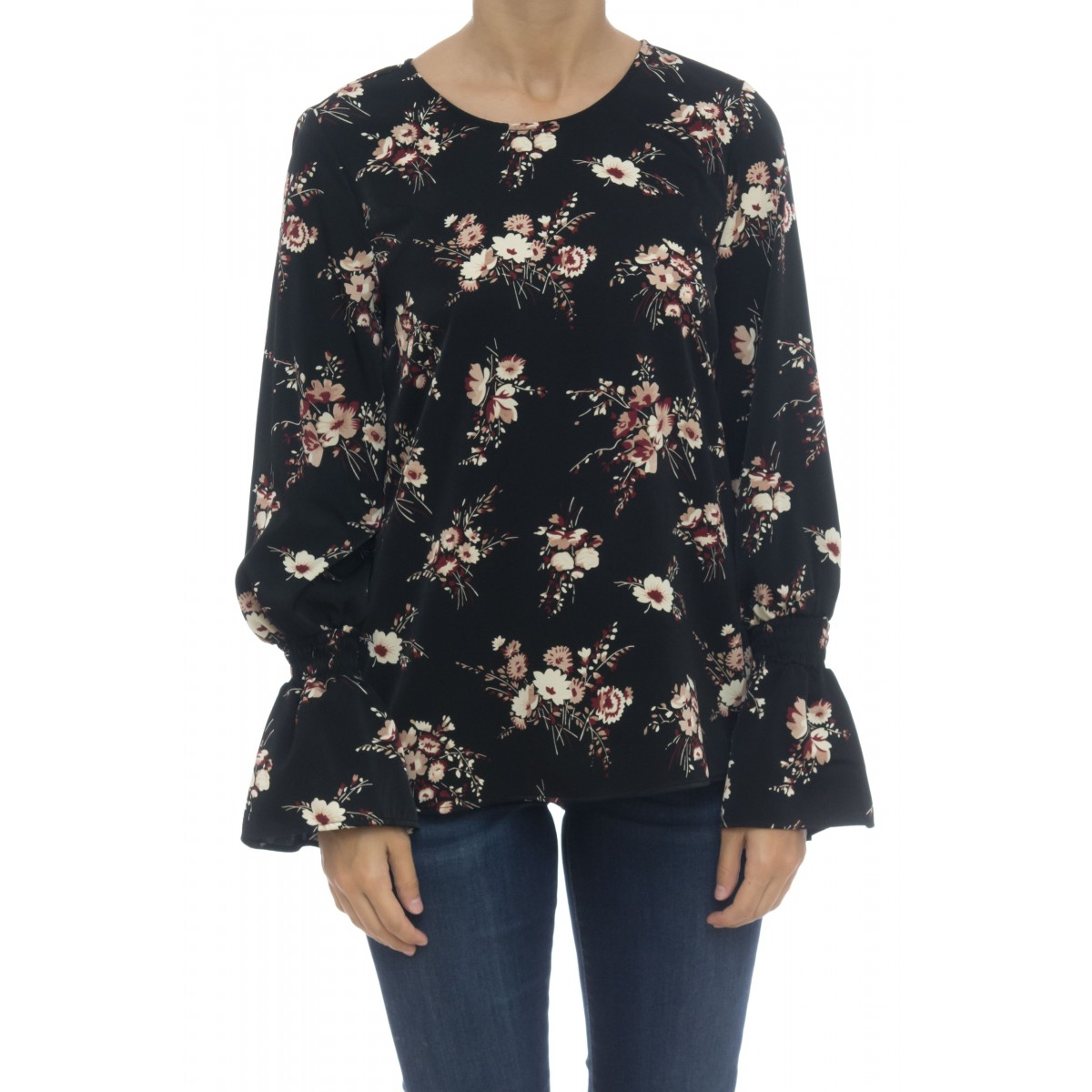 Camicia donna - Dinky camicia girocollo fasntasia