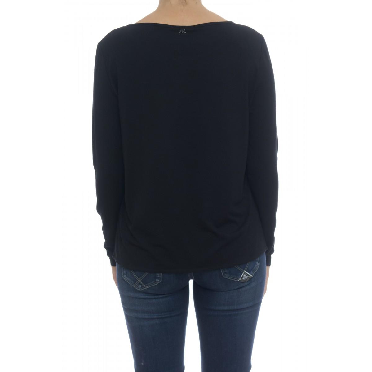 T-shirt donna - Maris t-shirt doppio tessuto