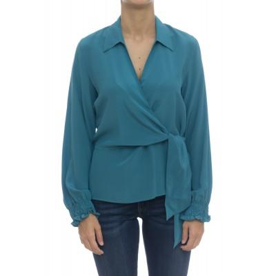 Camicia donna - Pmd zz3 camicia incrociata seta