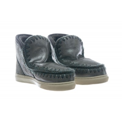 Scarpe - Mini eski sneaker mini glitter charcoal
