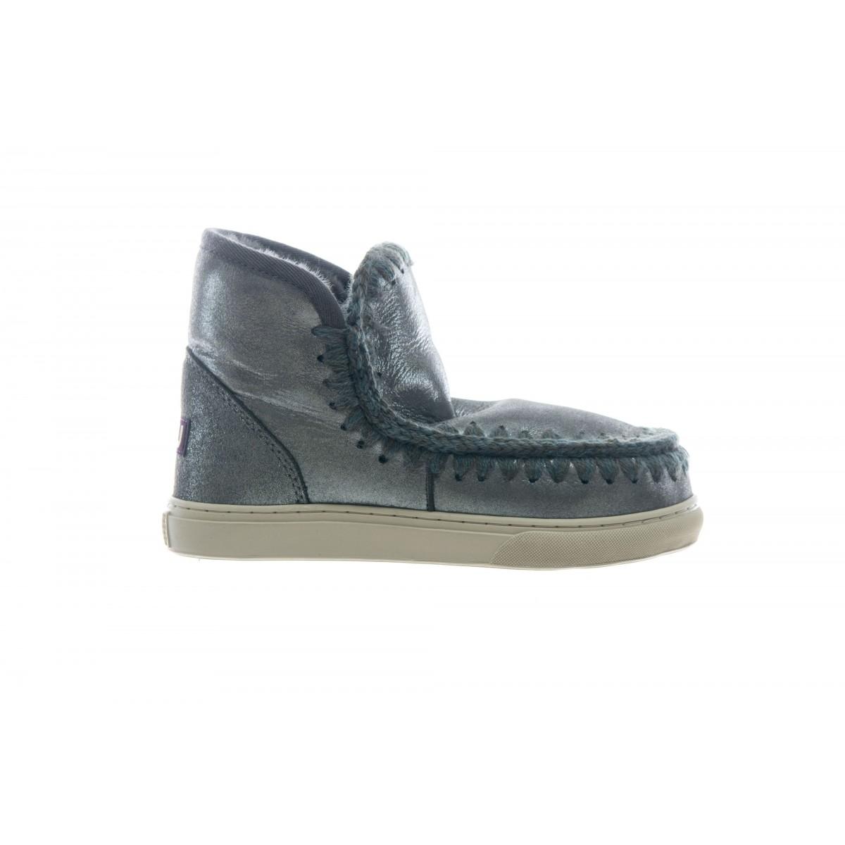 Scarpe - Mini eski sneaker mini glitter charcoal