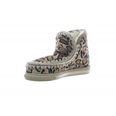 Scarpe - Mini eski sneakers cavallino leopard