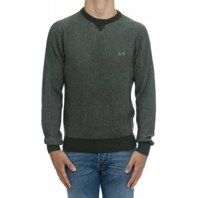 Maglia uomo - K29136 maglia costa inglese bicolore