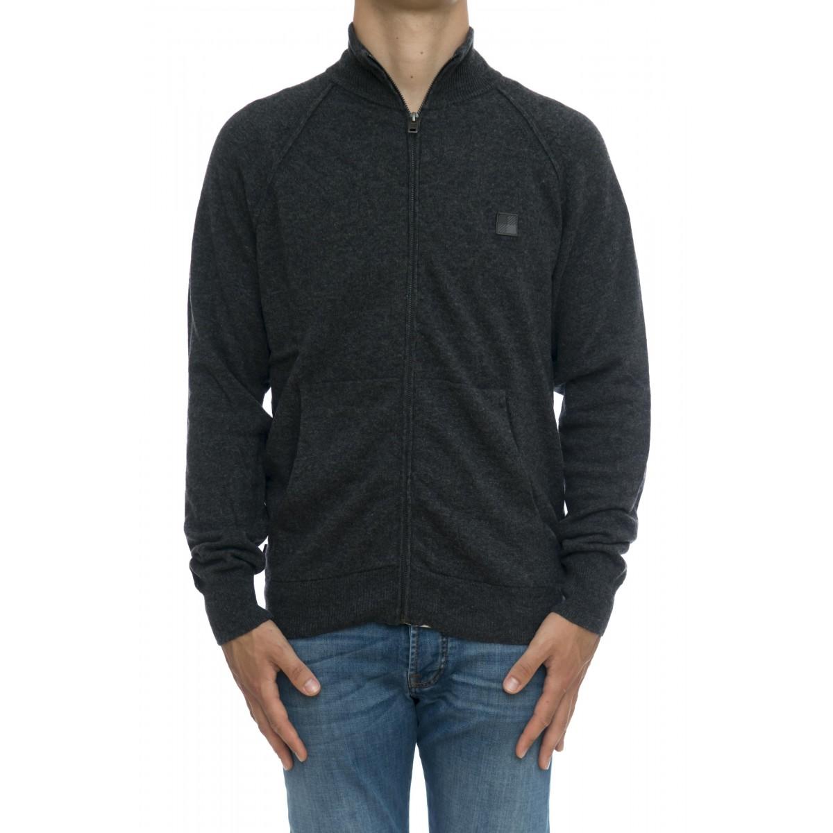 Maglia uomo - Womag1888 uf0350 maglia aperta zip