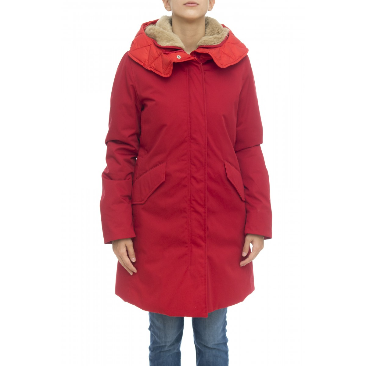 Piumino - W863 bb10 sun walley parka interno alpaca staccabile