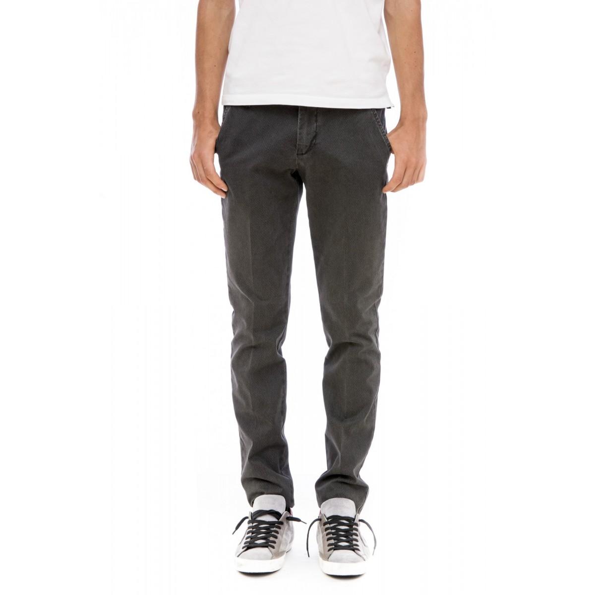 Pantalone uomo Entre amis - 8201/935 microfantasia strech