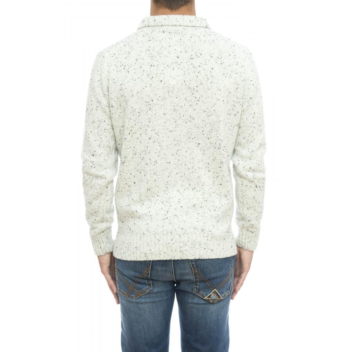 Maglia uomo - 8221/61 maglia lavorata nickerbocker con bottoni