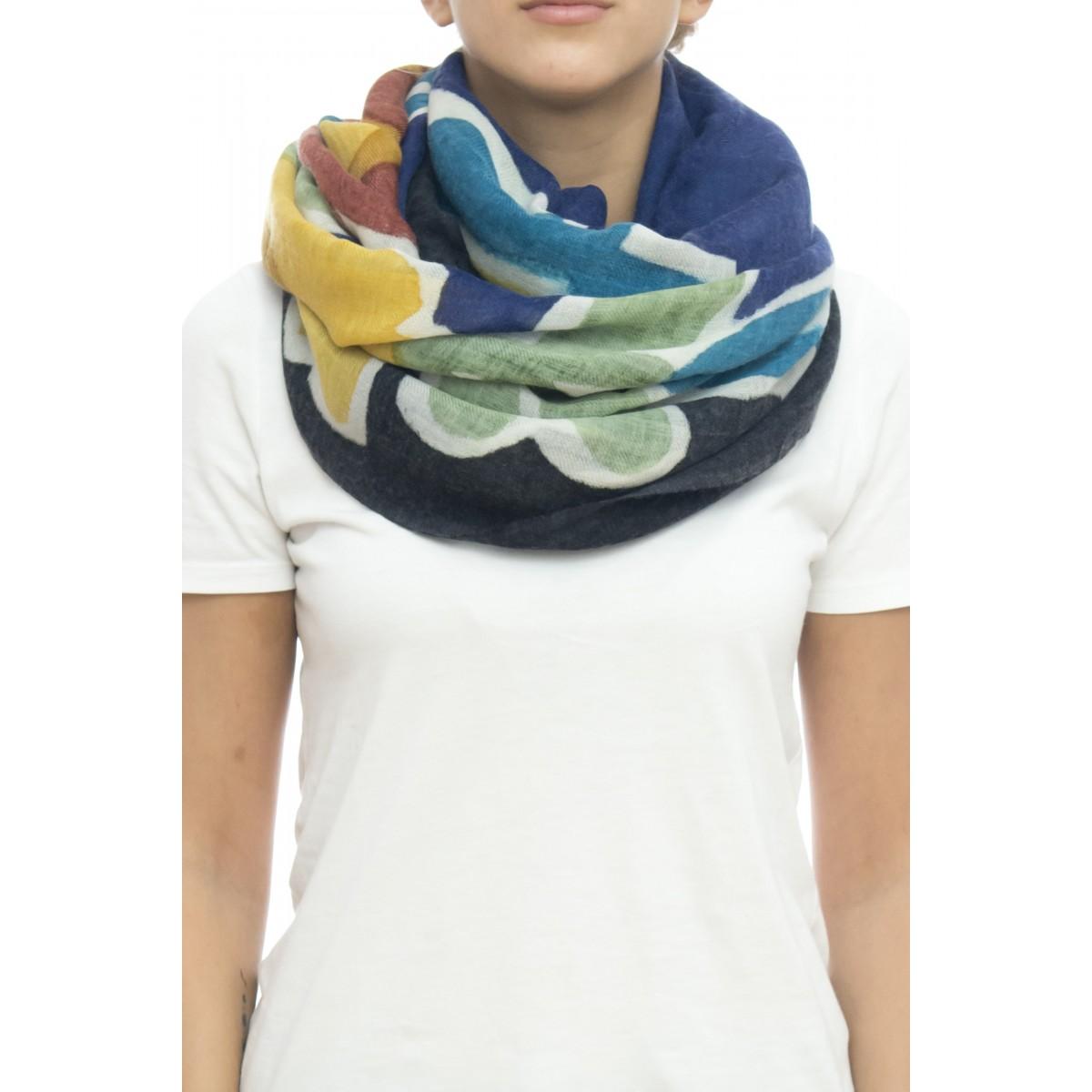 Sciarpa - Giglio 4528   100% lana ,  100 x 200