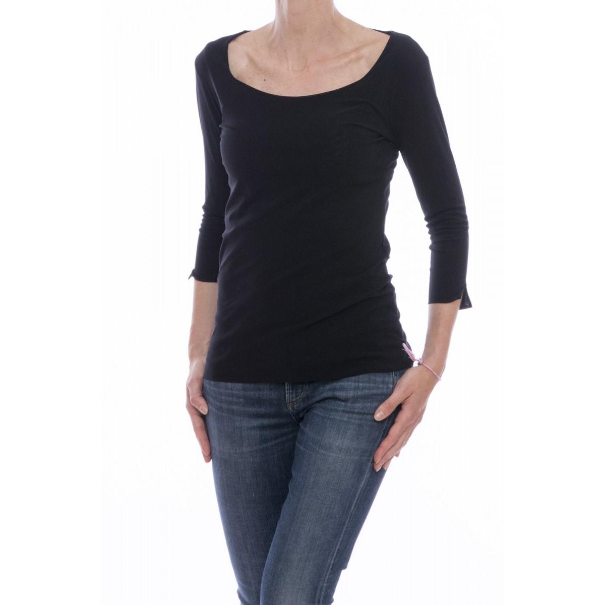 T-shirt donna Almeria - 16463 t-shirt scollo aperto