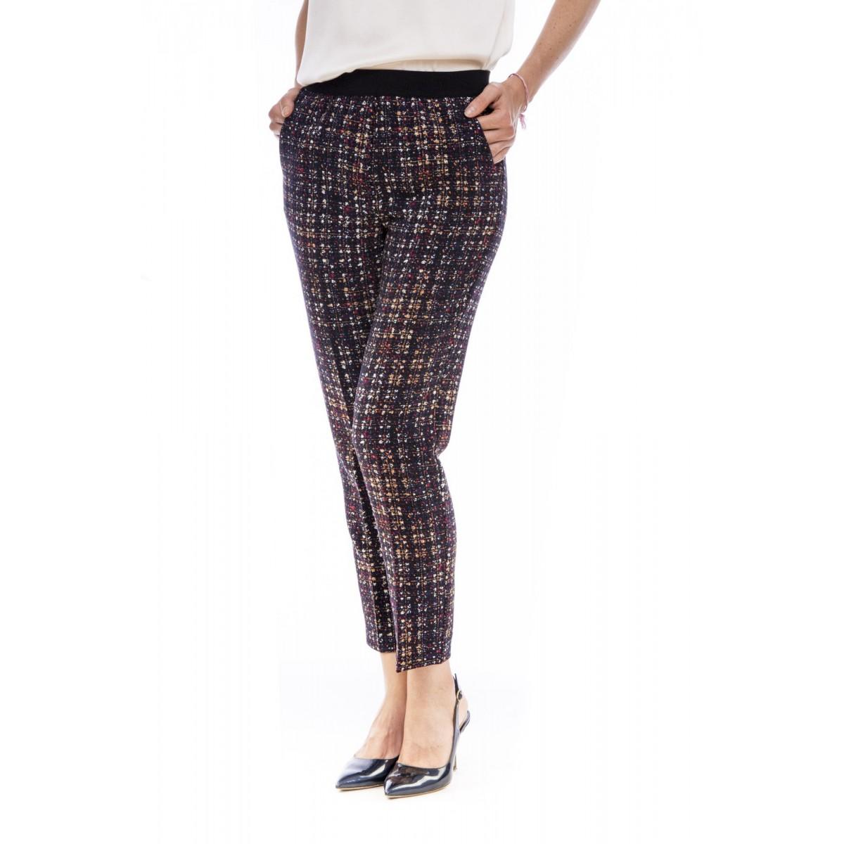 Pantalone donna Jucca - J4029 pantalone stampato