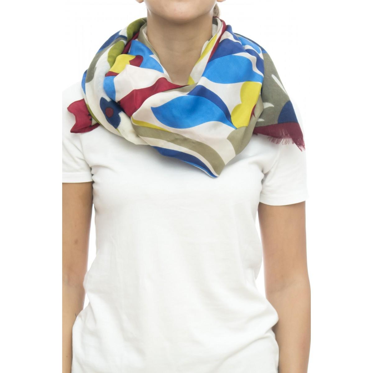 Sciarpa - Ibisco 4653   50% seta 50% lana, 100 x 200
