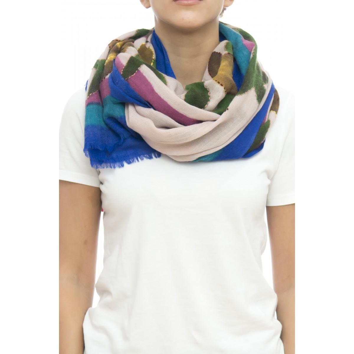 Sciarpa - Ortensia 4632  100% lana ,  70 x 180