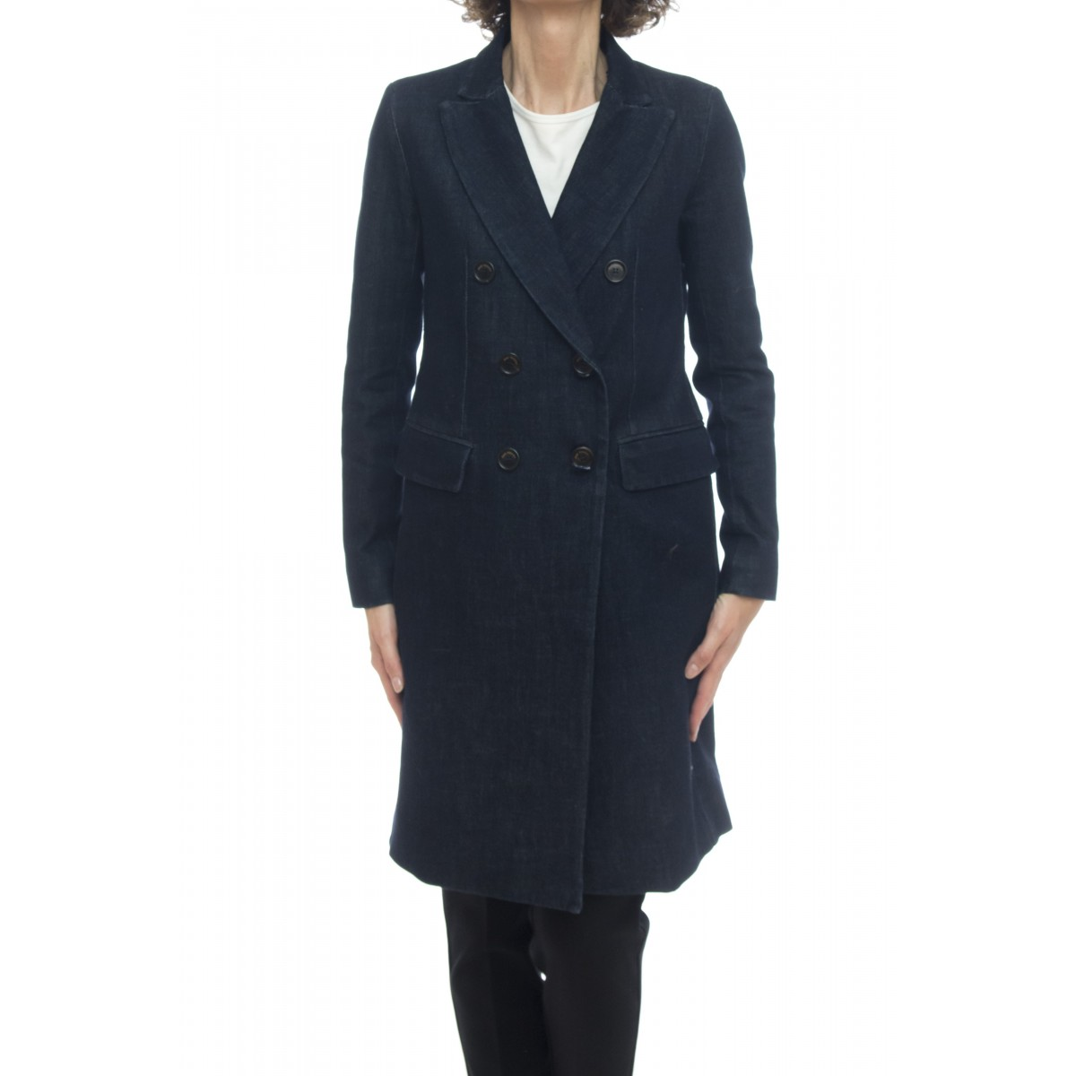 Cappotto - Coat diane rinse cappotto denim