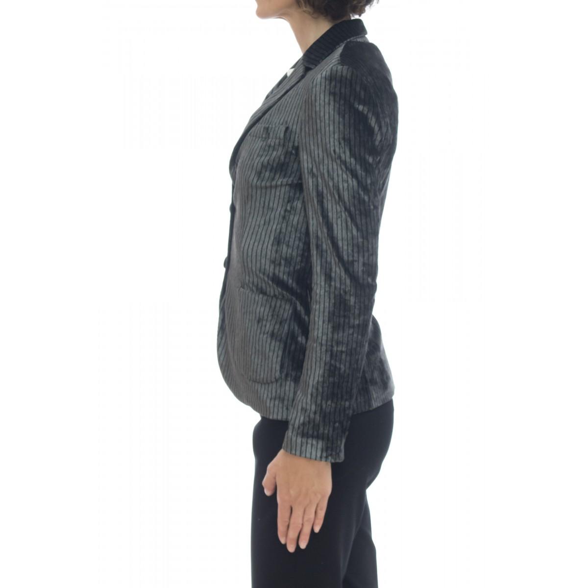 Giacca donna - Fd1443 giacca vellutto lavato