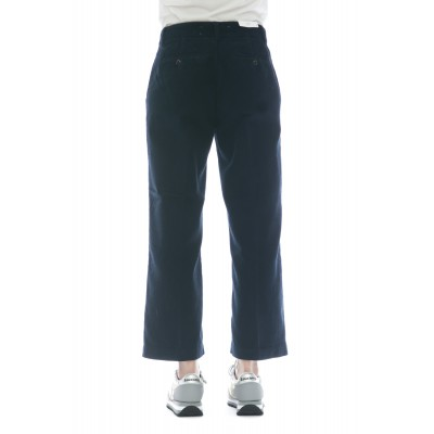 Pantalone donna - Lais cut vellutto 500 righe