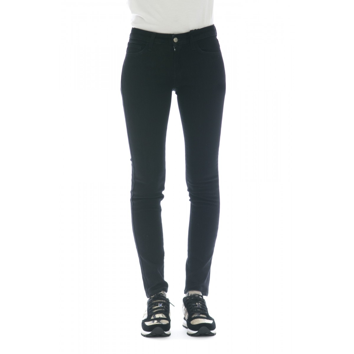 Jeans - Pushup black rinse